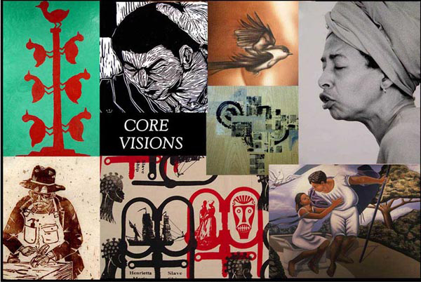 Core Visions African American exhibit of Virginia artists at ADA in 2003